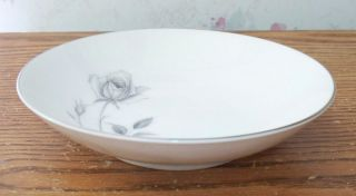 Royal Song Fine China Bread Plate Midnight Rose Japan 5514