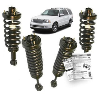 Lincoln Navigator Air bag to Coil Spring Struts Suspension Conversion