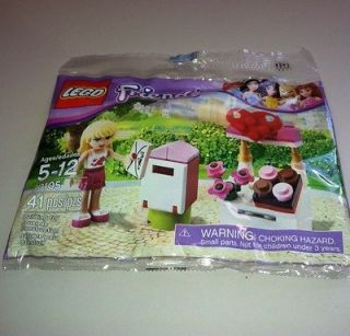 Lego Friends Stephanie And Mailbox Polybag 30105   New