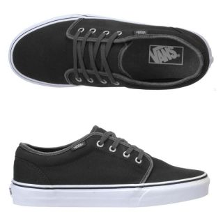 Vans 106 Vulcanized Garment Dye Black Mens Skate Shoes Size 13