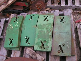 John Deere 3010 3020 4010 4020 tractor front slab pad weight weights