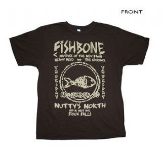 fishbone t shirt in Mens Clothing