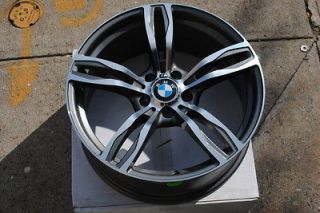 19 M5 Style BMW Gunmetal Machine Finish Wheels Rim 5 series X Drive
