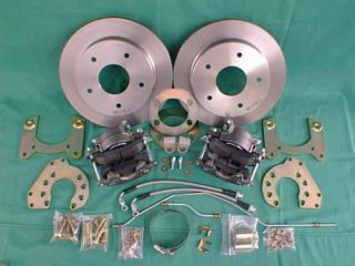 Early Ford Bronco REAR DISC BRAKE CONVERSION KIT, drum to disc Ford 9