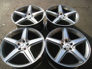 19 MERCEDES E550 AMG STYLE WHEELS TIRES S500 SLK CL500 CLK E350 C220