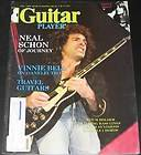 Guitar Player Magazine July 1982 Neal Schon Journey, Vinnie Bell