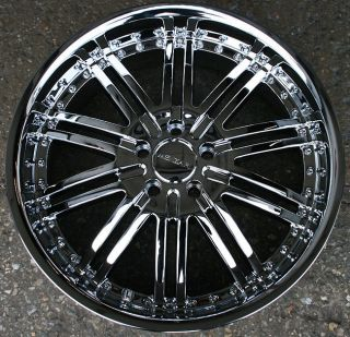 RVM Z08 20 CHROME RIMS WHEELS CADILLAC CTS STS DTS GM