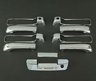 2009   2011 DODGE RAM 5D CHROME DOOR + TAILGATE HANDLE COVER