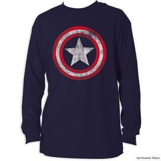 Captain America Shield Distressed Avengers Officially Licensed Adult