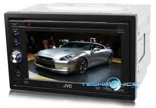 JVC CAR STEREO TOUCH SCREEN DVD PLAYER +2YR WARNTY RADIO RECEIVER USB