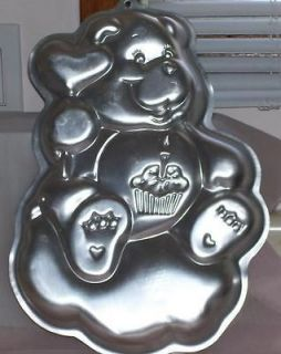 Wilton Care Bears Cake Pan 2005 2105 2424 Love a Lot Share Wish Good