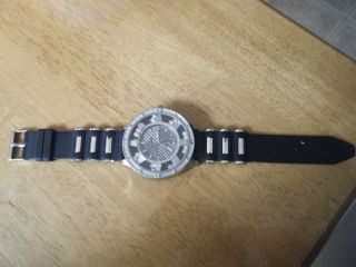 Mens Charles Raymond Watch Black and silver 11 long