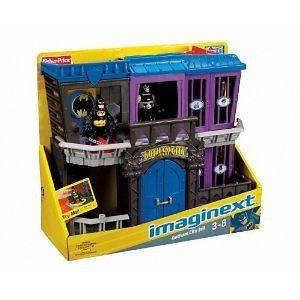 Fisher Price Imaginext GOTHAM CITY JAIL Super Friends CHECK out our