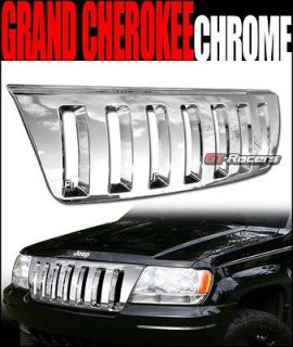 CHROME VERTICAL VIP FRONT HOOD BUMPER GRILL GRILLE ABS 1999 2004 GRAND