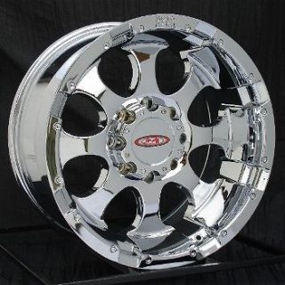16 inch Chrome Wheels/Rims Chevy HD Dodge Ram 8 Lug