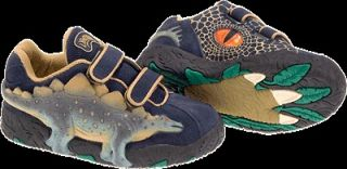 Kids Dinosaur Shoes with Lights 3D Stegosaurus Boys Size 1 Dinosoles