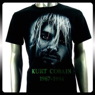 Nirvana Kurt Cobain Rock Punk Music T shirt Sz XL NI31
