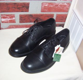NIB TOM MCAN MENS BLACK LEATHER LACE SHOES SZ 13