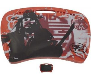 Pirates Of The Caribbean Cushioned Lap Desk Tray Table Arts Crafts