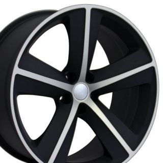 Dodge Challenger SRT8 Replica Wheels Rims 20x9 New (Fits Dodge