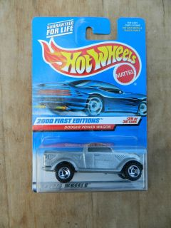 Hot Wheels 2000 First Editions 25 of 36 Dodge Power Wagon