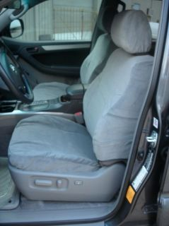 Toyota 4 Runner Electric Bucket Exact Seat Covers in Black Twill SAVE