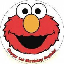 Elmo #5 Edible CAKE Icing Image topper frosting birthday party