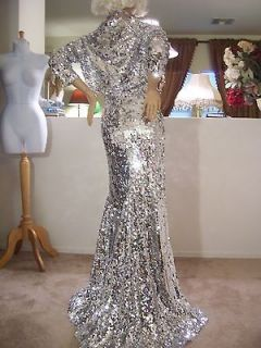 DRAG QUEEN STUNNING GLAMOROUS SEXY SHINY STAGE PAGEANT DRESS GOWN 1X