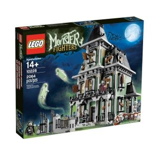 LEGO MONSTER FIGHTERS 10228 HAUNTED HOUSE (6) Mini figs NIB