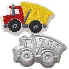 Wilton Dump TRUCK Cake Pan 2105 0562 Birthday FUN