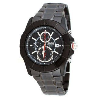 Lord SNAD01 Mens Black IP Chronograph Alarm Watch Watches