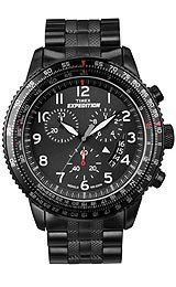 Timex Expedition Military Chrono Black Dial Mens watch #T49825