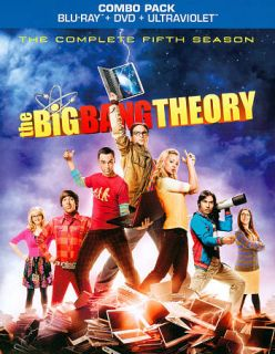 The Big Bang Theory The Complete Fifth Season Blu ray Disc, 2012, 5