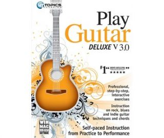 Buy Topics Learning Play Guitar Deluxe v3.0, music learning software