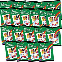 Creative Teaching Press Lesson Plan Books Rainbow Pack Of 20 by Office