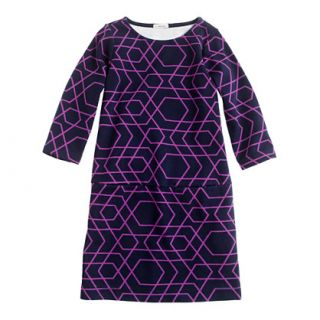 Girls mini Jules dress in geometric print   party   Girls dresses