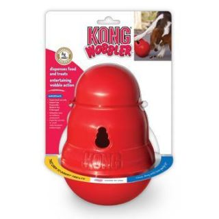 Home Dog Toys KONG Wobbler Food Dispensing Dog Toy