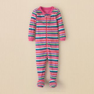 baby girl   striped stretchie  Childrens Clothing  Kids Clothes