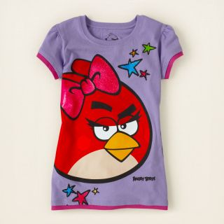 girl   graphic tees   licensed   Angry Bird graphic tee  Childrens