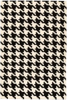 Houndstooth Area Rug   Wool Rugs   Contemporary Rugs   Rugs