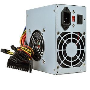 Logisys 480W 20+4 pin Dual Fan ATX Power Supply w/SATA Logisys PS480D2