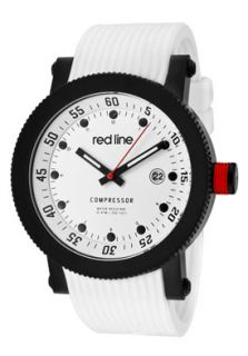 Red Line 18000 02 BB WHT ST Watches,Mens Compressor White Dial White