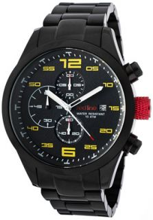 Red Line 50042 BB 11YL Watches,Mens Stealth Chronograph Black Dial