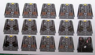 Custom Lego German Soldier WWII Decals