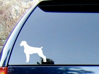 German Wirehaired Pointer Vinyl Decal Sticker / Color Choice   HIGH