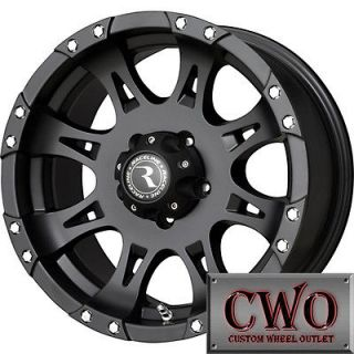 Newly listed 20 Black Raceline Raptor Wheels Rims 8x165.1 8 Lug Chevy