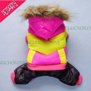 Fashion Down For Dog Clothes Dog Coat Dog Jumpsuit Jacket Jersey Free
