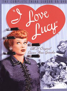 Love Lucy   The Complete Third Season (DVD, 2005, 5 Disc S