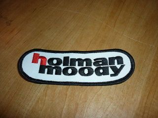 1960s HOLMAN MOODY OVAL LOGO JACKET HAT PATCH FORD MUSTANG FAIRLANE