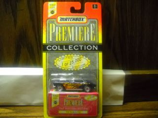 MATCHBOX PREMIERE COLLECTION SERIES 11 62 CORVETTE with REAL RIDERS